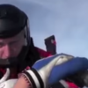 Dramatic moment of unconscious skydiver rescued mid-air captured on helmet camera