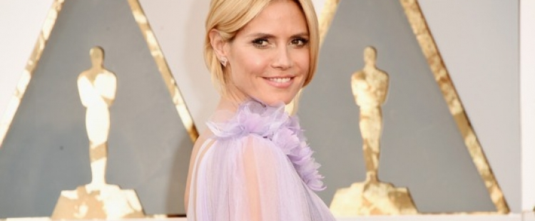 Heidi Klum at the 2016 Academy Awards