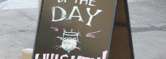 Interesting soup of the day LOL